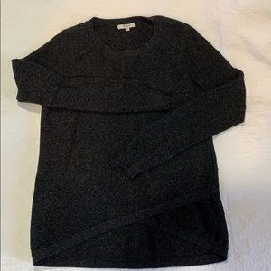 Madewell charcoal grey sweater